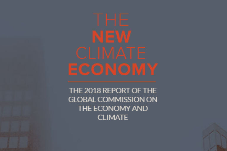 new climate economy 2018 report